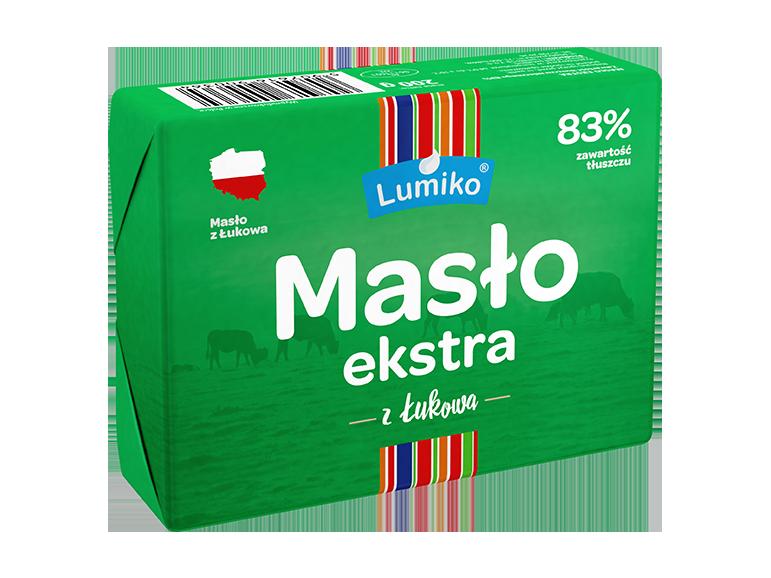 Lumiko Masło ekstra premium 83% 200g
